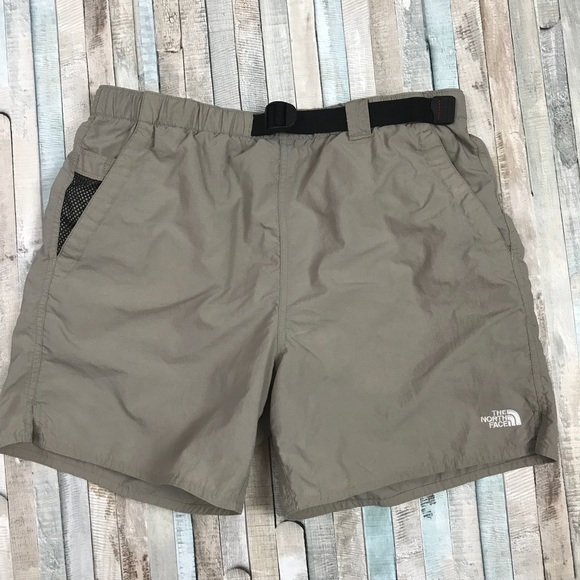 The North Face Other - The North Face Nylon Shorts Beige Hiking Swimming